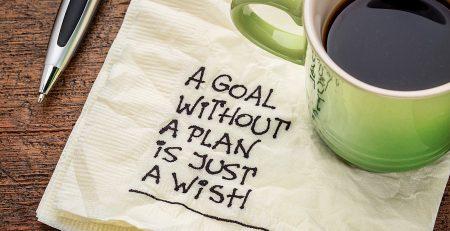 stabilire un obiettivo di vita